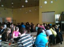 Fotky z prednášky na Spojenej školy v Bytčici.