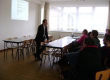 Realitný Vodičák prednáška na SOŠ technická v Čadci
